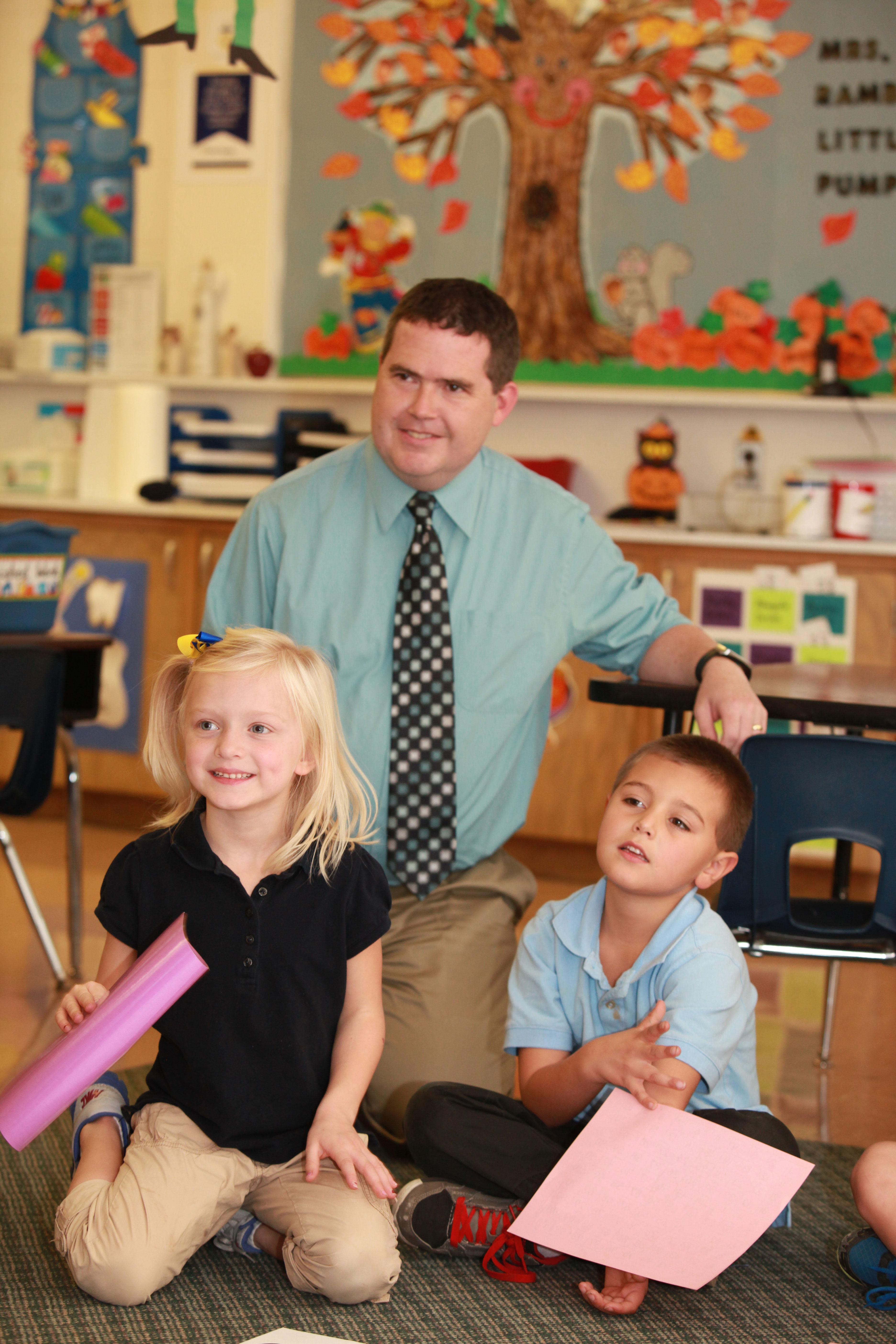 Holy Ghost Catholic Elementary Welcome Image