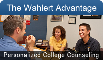 The Wahlert Advantage: Personalized College Counseling