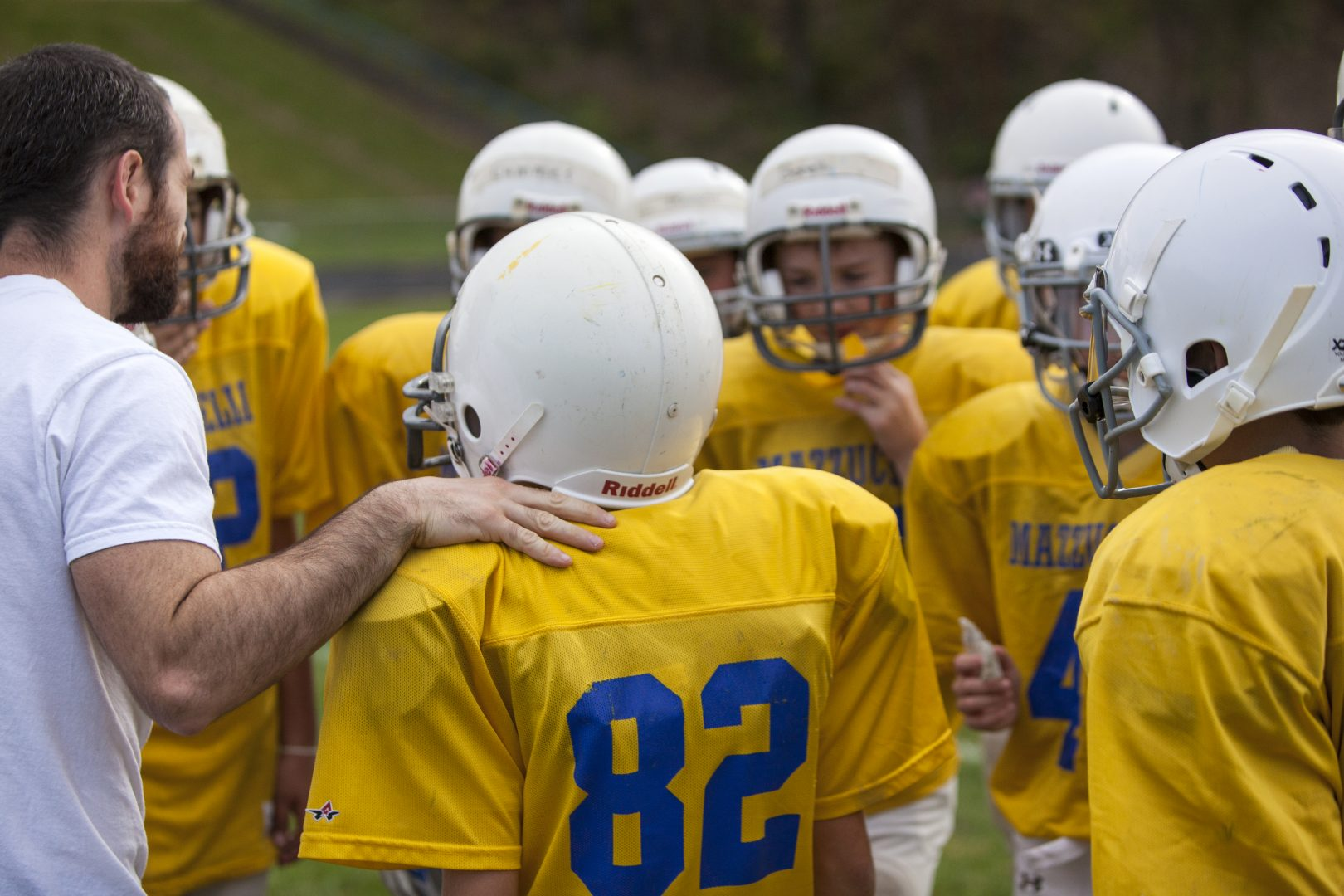 coaching mazzuchelli football