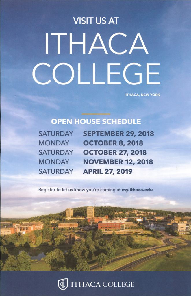 thumbnail of Ithaca College Open House Days